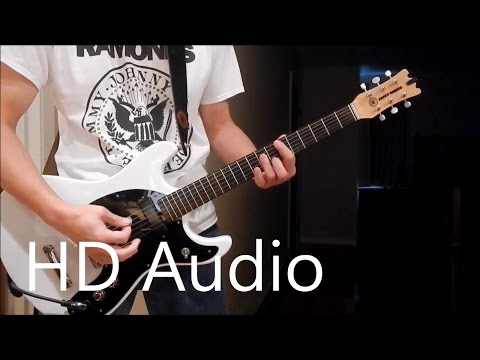 Ramones – I Wanna Be Sedated (Guitar Cover) Barre Chords, Downstroking, Johnny Ramone
