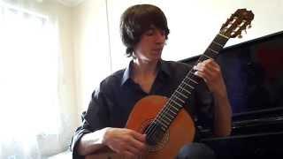 Пьеса для классической гитары