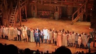 'Hamilton' Cast Delivers Message to Mike Pence