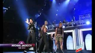 Michael Jackson Beat It Live 2001 Madison Square Garden.