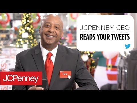 JCPenney CEO, Marvin Ellison, Reads Your Tweets