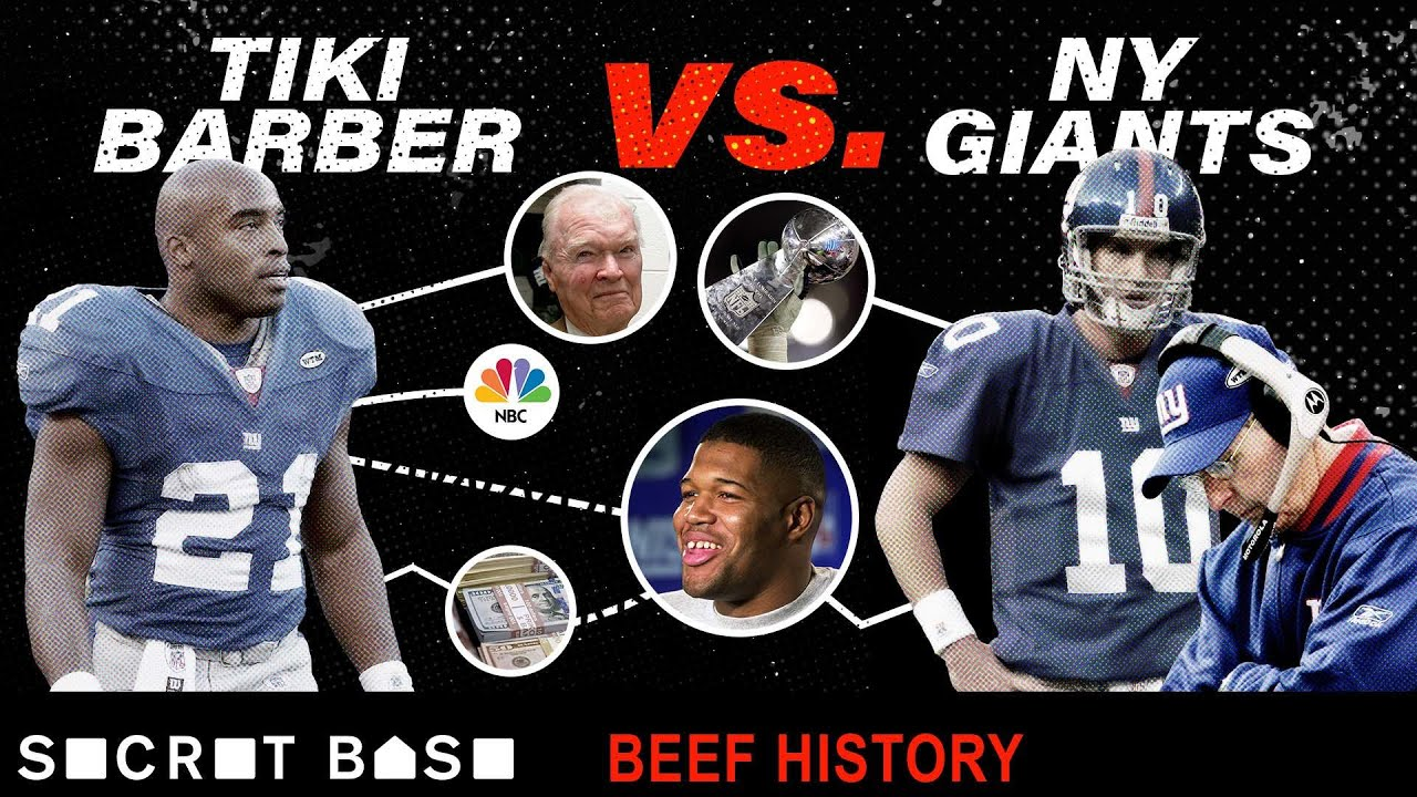 Tiki Barber Beefed So Much With The Giants That Everyone Forgot How Great He Was