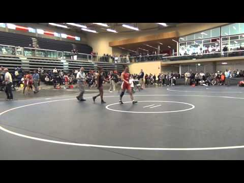 2014 SFU International: 48 kg Jasmine Mian vs. Yolanda Lawes