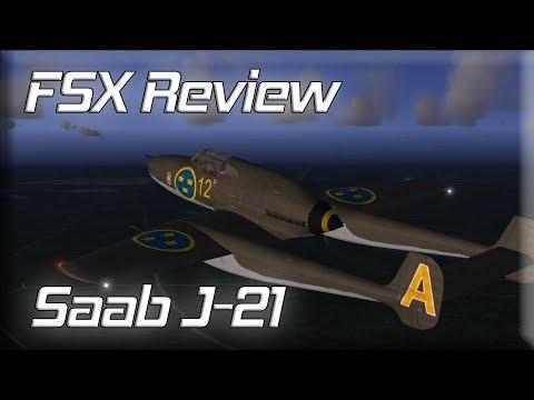 FSX Review: Saab J-21