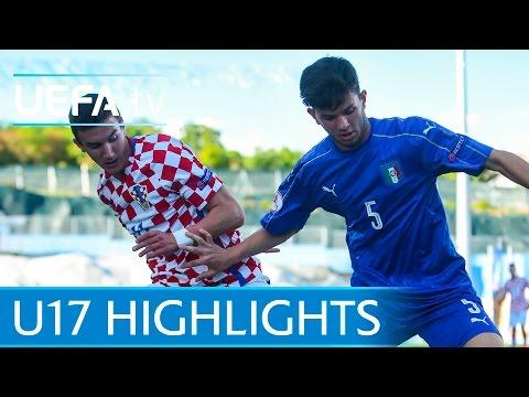 U17 Highlights: Moise Kean scores Italy winner against Croatia