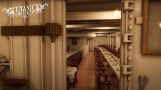 Virtual Tour of the Titanic | No Stopping at Info Signs | No Talking | Fast Walkthrough