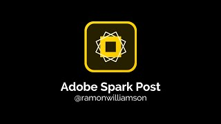 adobe Spark Post Tutorial (Formally Adobe Post)
