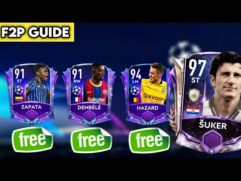 HOW TO GET FREE 2x 91 RATED PLAYERS FROM UCL EVENT | PACK OPENING | F2P GUIDE | FIFA MOBILE 21