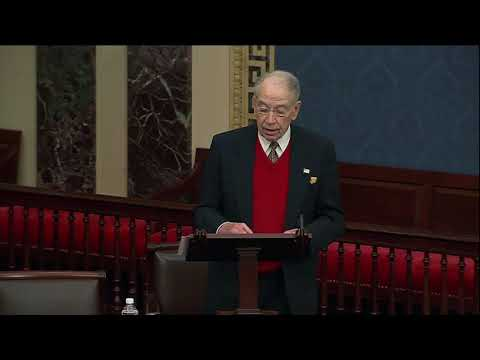 Grassley on the Partisan American Rescue Plan