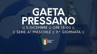 Serie A1M [9^]: Gaeta - Pressano 30-27