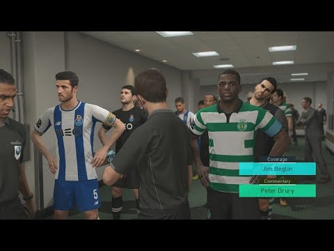 PES 2018 (PS4 Pro) Sporting Lisbon v FC Porto LIGA NOS 01/10/2017 PREDICTION MATCH 1080P 60FPS