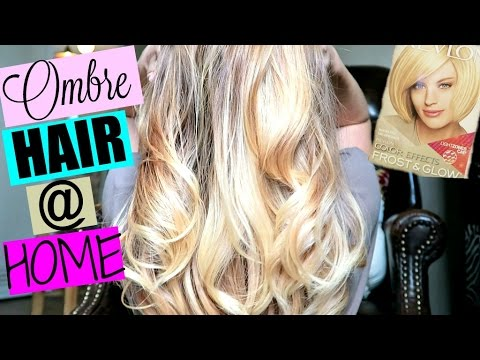 Diy how to ombre balayage hair at home youtube diy how to ombre balayage hair at home solutioingenieria Image collections