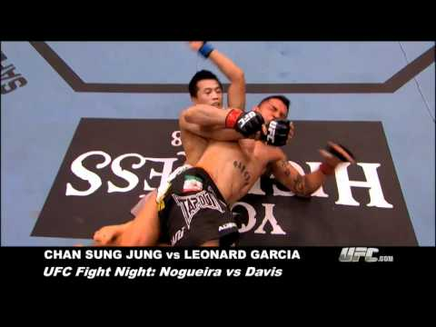 Submission of the Week: Chan Sung Jung vs. Leonard Garcia