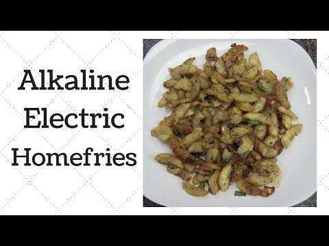 Homefries Dr  Sebi Alkaline Electric Recipe - YouTube