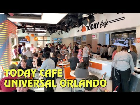 Inside the Today Cafe at Universal Studios Florida
