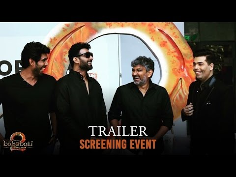 Thumbnail: Baahubali 2 - The Conclusion | Trailer Screening Event | S.S. Rajamouli | Karan Johar