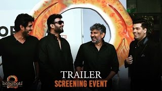Baahubali 2 - The Conclusion | Trailer Screening Event | S.S. Rajamouli | Karan Johar