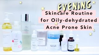 PM Skincare Routine • Oily, Acne Prone Skin • Thoughts on Skincare