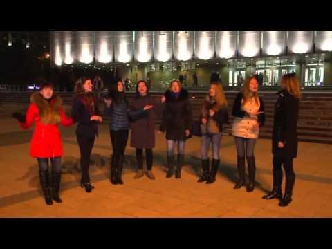Russian girls sing Lube - Kon