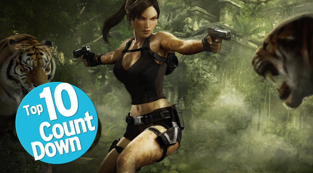 Top 10 Tomb Raider Games Youtube