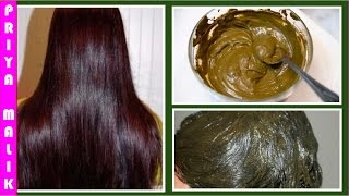 get long hair soft hair smooth hair thick hair and healthy hair naturally henna hair pack
