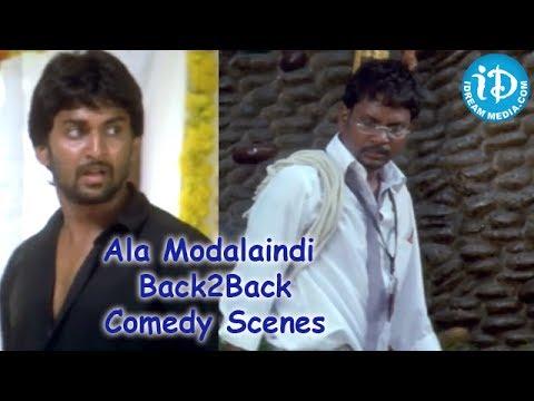 Ala Modalaindi Movie Back2Back Comedy Scenes - Nani - Nithya Menon