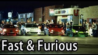 NFS Underground 2 - Fast and Furious Drag Scene