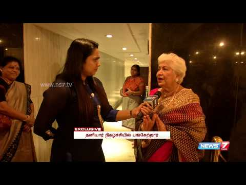 Exclusive meet with Sowcar Janaki | Super...