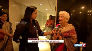 Exclusive meet with Sowcar Janaki | Super Housefull | News7 Tamil