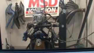 445ci 8/71 Blown Ford Windsor Engine Dyno By Horsepower World
