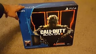 Jet Black PS4 Unboxing (Black Ops 3 Bundle)(Unboxing of the new Jet Black Sony PlayStation 4 game console and the Dual Shock 4 controller. CHECK OUT MY OTHER CHANNELS Review Channel ..., 2016-02-24T21:32:36.000Z)