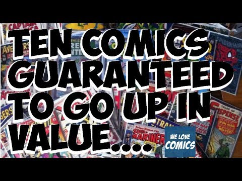 10 Comics GUARANTEED To Rise In Value. MUST HAVE COMICS.