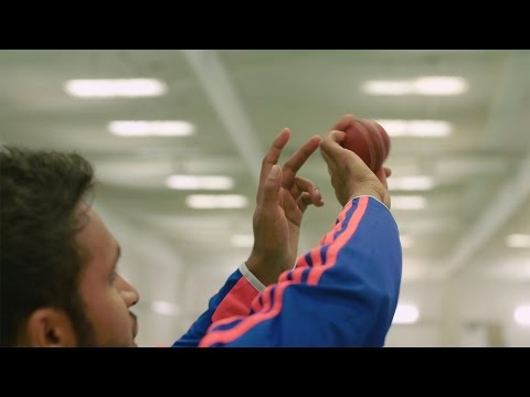 England spin bowler Adil Rashid - how to bowl a googly