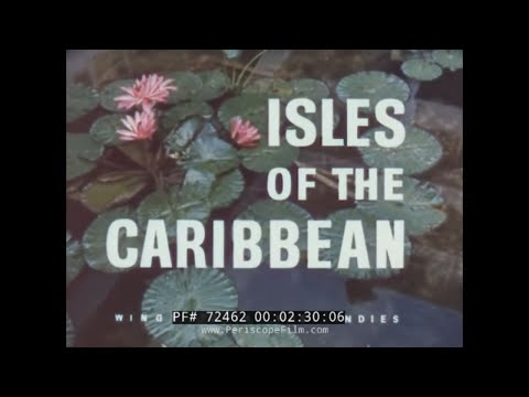 PAN AM AIRLINES ISLANDS OF THE CARIBBEAN TRAVELOGUE  CUBA in 1960s 72462