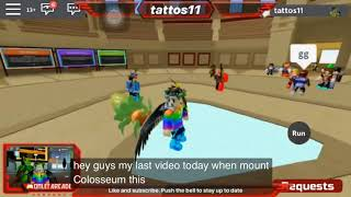 Complete Battle Colosseum Tour| ROBLOX Loomian Legacy