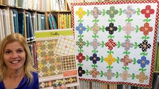 TRELLIS Pattern -  A Flowers and Vines Quilt that's so Fine!