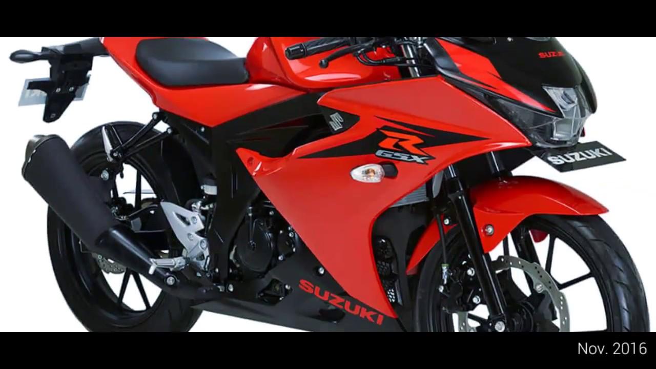 Pilihan Warna Suzuki GSX-R150 MY 2017