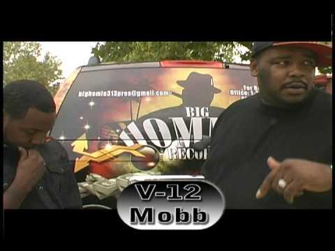 V12 Mobb / Big Hommie Records Feeding The Homeless