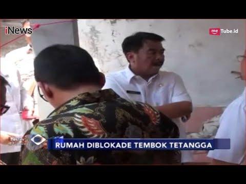 PLH Walikota Bandung Tinjau Rumah Eko, Korban Blokade Tembok Tetangga - iNews Malam 18/09