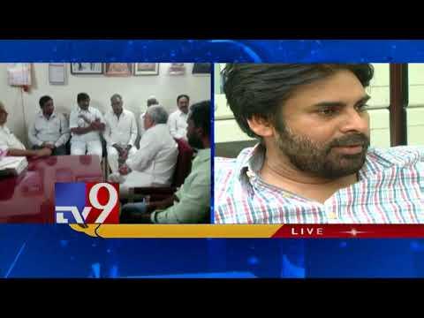 Janasena team meets Kapu leader Mudragada - TV9 Today