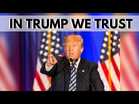 Image result for in trump we trust""