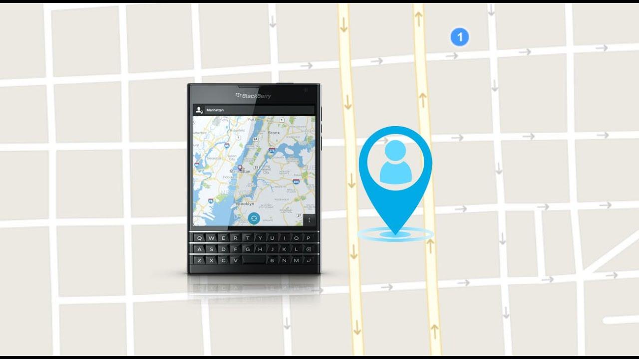 rastrear celular robado blackberry