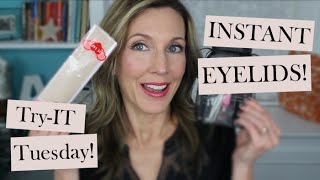 Instant Eyelids with Fiber Lace Eyelid Tapes!