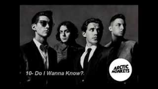 Top 10 Arctic Monkeys Songs