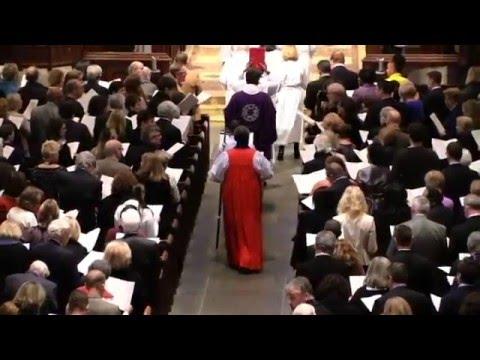 Bishop Michael Bruce Curry Celebrates Christ Church Cranbrook