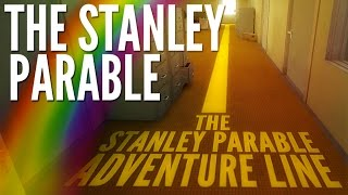 kyr sp33dy plays the stanley parable follow the yellow line
