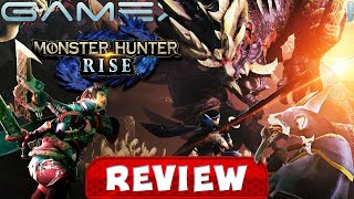 Monster Hunter Rise - REVIEW (Switch) (Video Game Video Review)