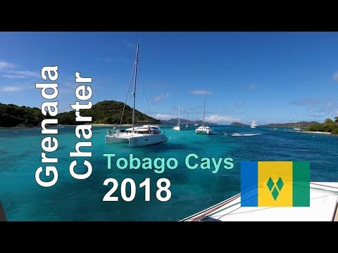 Sailing Grenada and the Grenadines - Tobago Cays