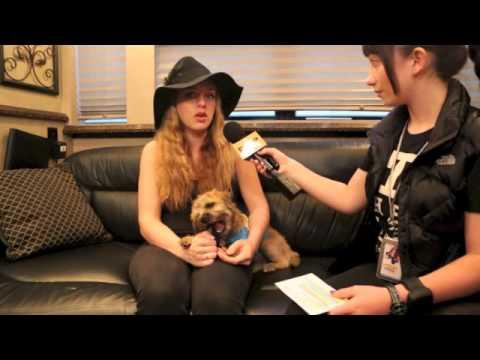 ZZ WARD Interview with Pavlina 2013 Orlando, Florida