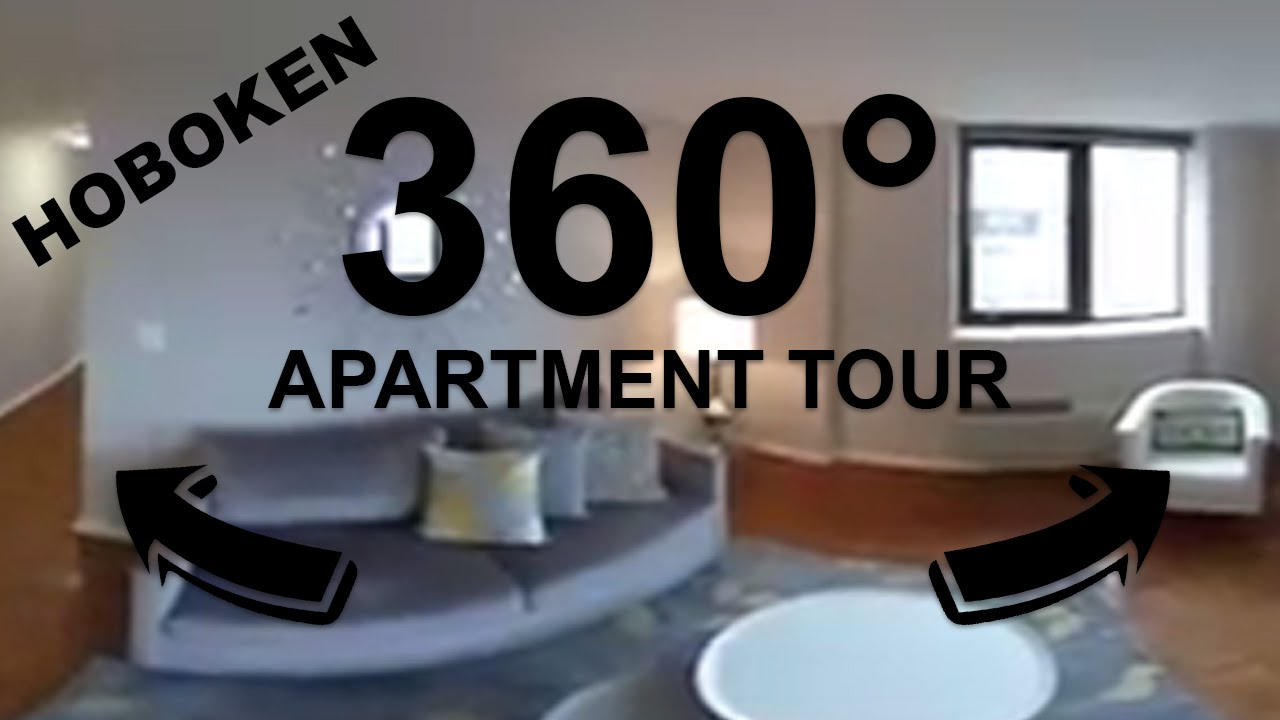 360° Video Apartment Tour In Hoboken, NJ | Observer Park   YouTube